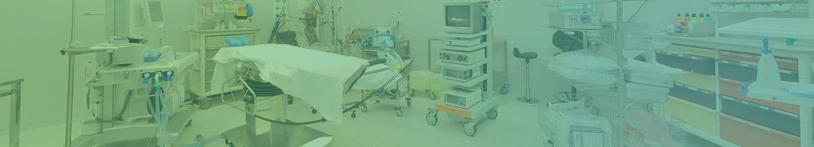 photo d'un bloc opératoire de l'hôpital