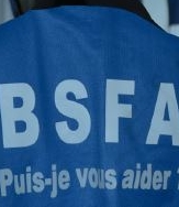 illustration Des gilets bleus au service des patients