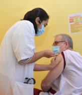illustration Ouverture du centre de vaccination Covid-19 du CHIV