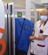 illustration Le CHIV, 1er hôpital de France à s'équiper de vestiaires automatisés pour le personnel